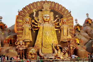 Durga Puja, Calcutta - When God meets Art