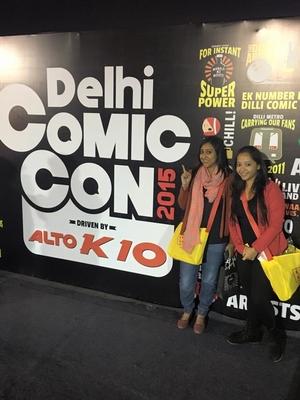 Comic Con Delhi 2015: Pop, Fun & Quirk!