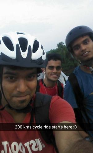 Konkan cycling trip - Manipal to Gokarna