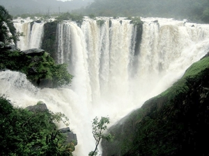 Mighty Jog Falls, near Shimoga, Karnataka