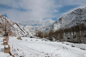 Winters in Leh : A wonderland at subzero