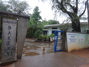A Rainy Morning at The Auroville Bakery