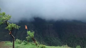 Amongst the clouds....Gorakhgad Fort