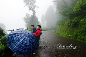 Darjeeling during rains