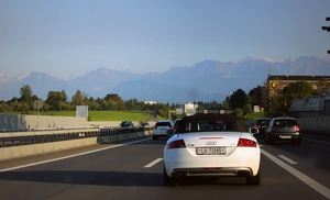 Driving down the Autobahn