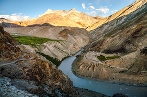 Trek to Phuktal monastery in Zanskar