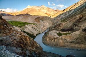 Trek to Phuktal monastery in Zanskar