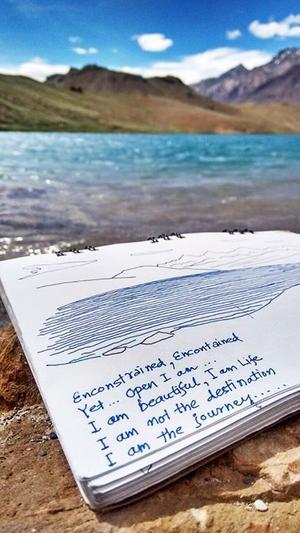 चंद्रताल - The moon lake