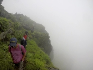 Into the clouds: Chikmagalur
