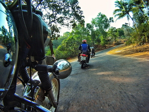 Coastal Route to Goa: A Motorcycle Tour
