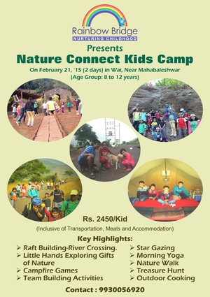 Nature Connect Kids Camp in Wai, near Mahabaleshwar