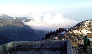Triund with friends