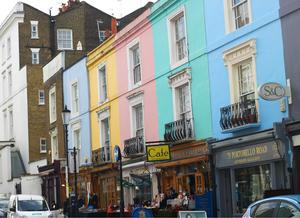 The Vintage Portobello Market   London