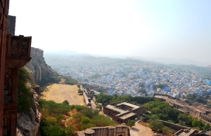 Painting the town blue ~ Jodhpur diaries
