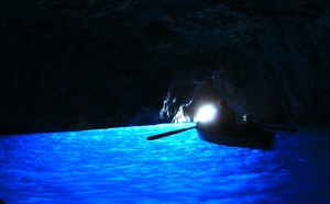 Capri Island-The Bewildering Blue Grotto