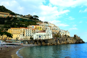 Amalfi Coast- Towns Perched On Seaside Cliffs