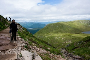 Hike to Britain's highest mountain