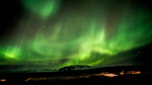 Hunting for Northern Lights, Iceland