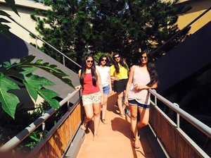 All girls trip to Goa.