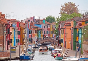 Venice and its two jewels: Murano and Burano