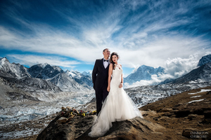 This Adventure-Couple Did Something That Others Can Only Dream Of... They Got Married At Everest!