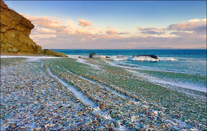 Nature Transforms Russia's Dumping Ground Into A Colourful Pebble Beach & The Pictures Are Amazing