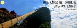 Three Hundred Feet Rappelling At Dukes Nose Lonava
