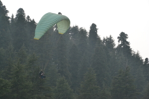 Paragliding in Khajjiar- An acrophobic's experience