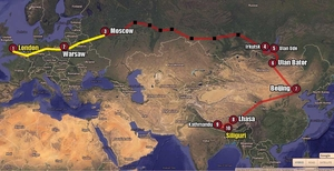 Long way home - Part I - London to Moscow
