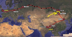Long way home - Part III - Buryatia to Mongolia: Bollywood, Buddha, Saraswati and Genghis Khan
