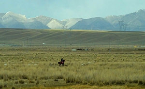 Long way home - Part IV - Ulan Bator to Lhasa: The Gobi desert and the great Firewall of China!