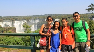 Meet a couple travelling the world for 1 year with 2 kids