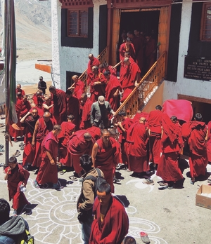 A Day with the Monks