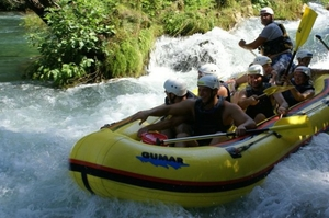 Rafting Adventure on the River Cetina, Croatia