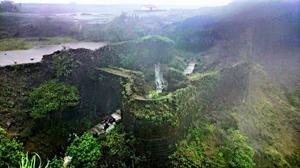 Korigad - Place of Backward Waterfall