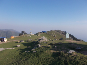 Trekking at Triund