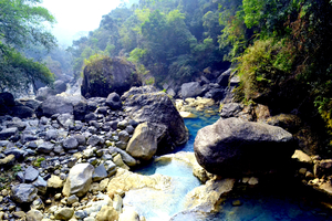 David Scott trail and other treks in Meghalaya