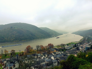 Bacharach: Deep breaths by the Rhine