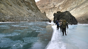 Chadar Trek : Journey of Life only for few ..everyone not so Lucky!!!