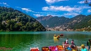 SOLO Bike Ride To Nainital - Small City in lap Of Himalayan Range Mountain.