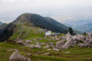 Backpacking to Triund - The Himalayas