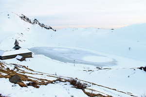 Floating Island Prashar Lake