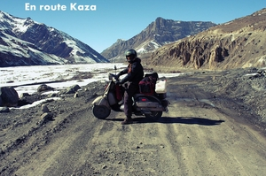 Solo Scooter Ride to Winter Spiti-March 2011