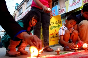 When Kathmandu celebrated the new constitution
