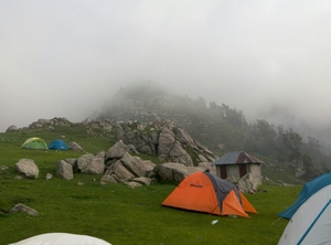 Triund Crowdy but Heavenly starter for First time trekkers