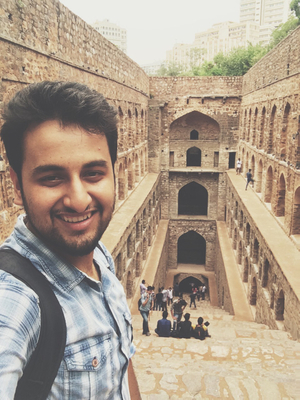 Wanderer in Delhi!