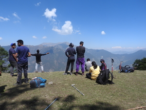 Two Nouveau Trekkers and a Mysterious Lake-An account of Roopkund Trek