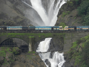 Dudhsagar waterfall: Of trains, tunnels & torrents