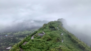 Heaven Trail- enter the clouds.. Lohagad Fort (Mumbai-Pune Highway)
