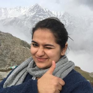 Diksha Dogra Travel Blogger